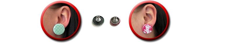 Ohrringe Vorder- und Rückseite