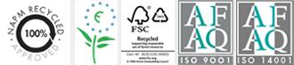 materiales certificados