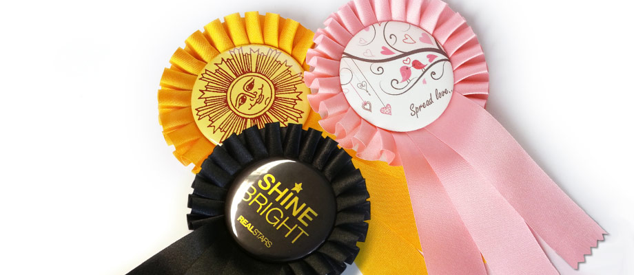 Rosettes with Badge preview image
