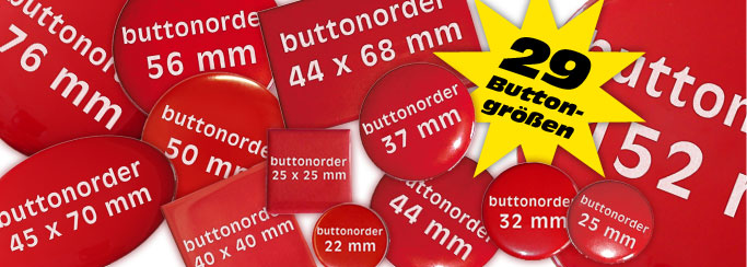 Buttons in 29 Größen