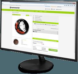 Button Designer, Button Generator