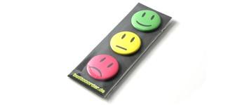 3 Smiley-Buttons mit Magnet Vorschaubild