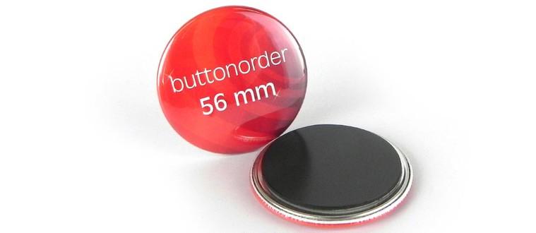 56mm Kühlschrankmagnet-Button mit Ihrem Motiv