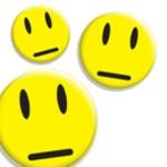 gelbe neutrale Smileys Vorschaubild