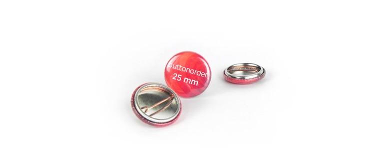 25mm Nadelbutton mit Ihrem Motiv