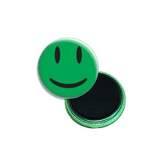 Happy smiley, verde