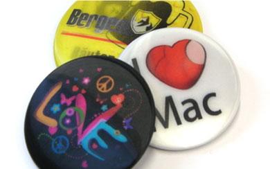 Lentikular-Buttons, Wackelbildbuttons, 3D-Buttons