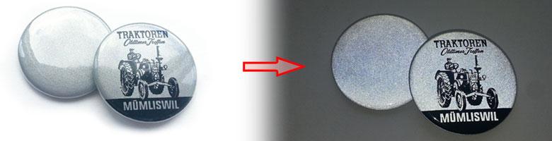 Reflektor-Buttons, Sicherheitsbuttons