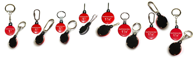 Key chain button 25mm, 32mm