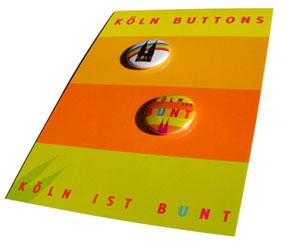 Postkarte mit Buttons 50