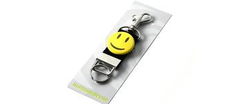 Schlüsselband mit Smiley Happy-gelb Vorschaubild