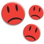 Rote traurige Smileys Vorschaubild