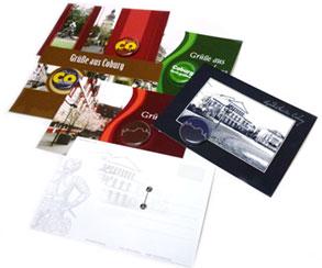 Postkarte mit Buttons 25
