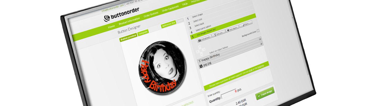 button designer