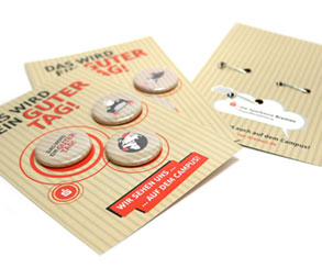 Postkarte mit Buttons 37