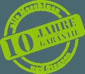 Maschinen 10 Jahre Garantie