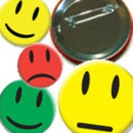 Chapa Smiley con Imperdible Vorschaubild