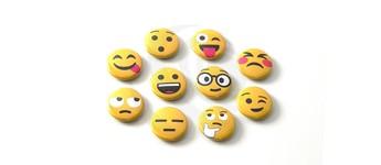 """Emoji-Set """"Mix"""" mit Sicherheitsnadel Vorschaubild"""