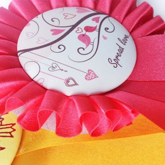 Rosettes with Button